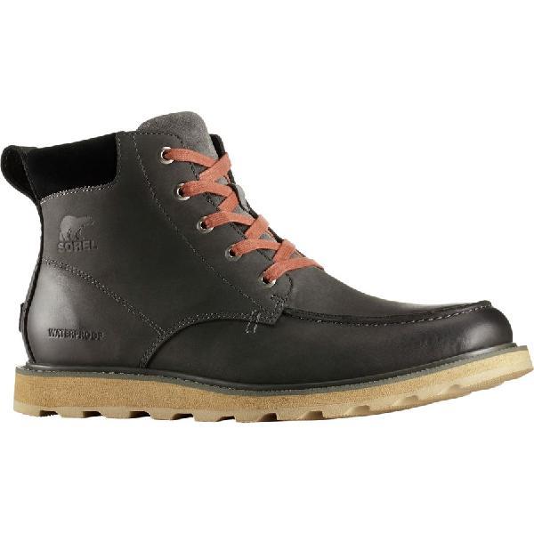 (取寄)ソレル メンズ マドソン モック トー ブーツ Sorel Men's Madson Moc Toe Boot Grill/Black
