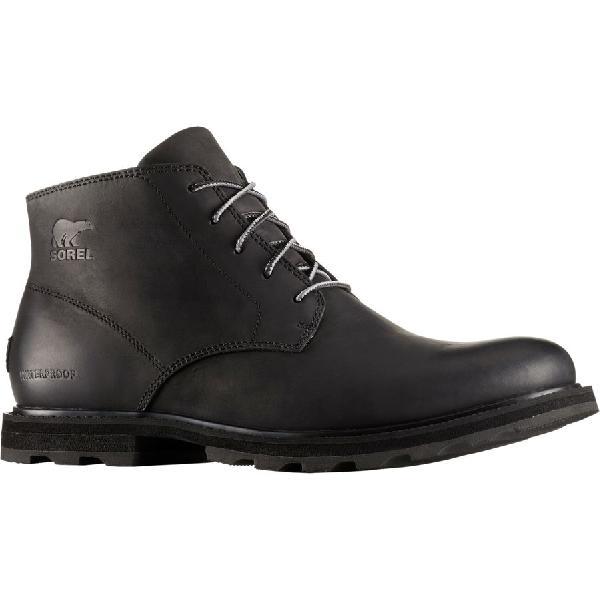 (取寄)ソレル メンズ マドソン チャッカ ブーツ Sorel Men's Madson Chukka Boot Black/Black