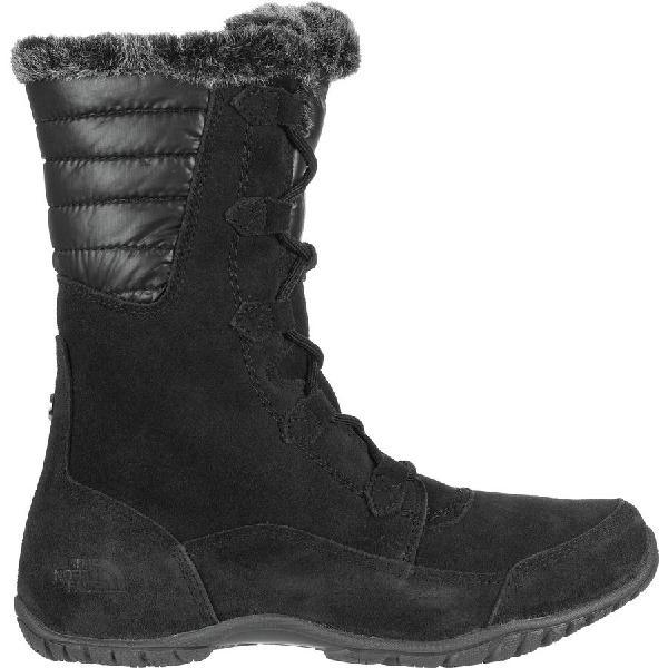 (取寄)ノースフェイス レディース ヌプシ プルナ 2 ブーツ The North Face Women Nuptse Purna II Boot Tnf Black/Beluga Grey
