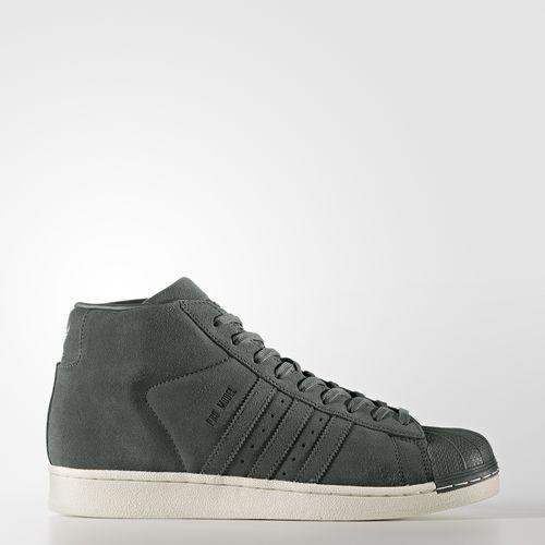 (取寄)アディダス オリジナルス メンズ プロ モデル スニーカー adidas originals Men's Pro Model Shoes Green Night  /  Green Night  /  Running White