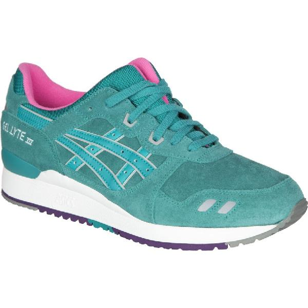 (取寄)アシックス メンズ GEL-LYTE3 ゴールド シューズ Asics Men's GEL-LYTE III Gold  Shoe Tropical Green/Tropical Green