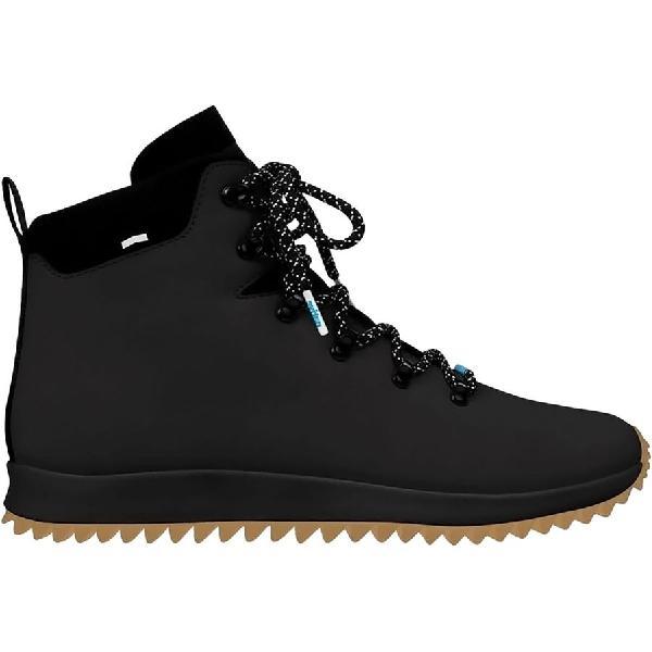 (取寄)ネイティブ  レディース APアペックス ブーツ シューズ Native Women AP Apex Boot Shoes Jiffy Black Ct/Jiffy Black/Nat Rubber