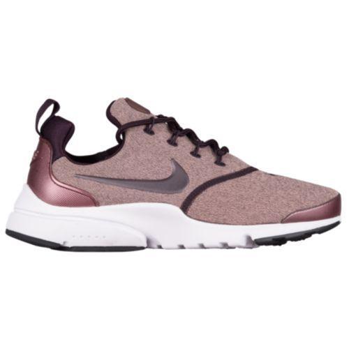 (取寄)Nike ナイキ レディース プレスト フライ スニーカー Nike Women's Presto Fly Port Wine Metallic Mahogany Particle Pink Black
