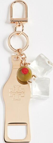 (取寄)Tory Burch Bottle Opener Key Chain トリーバーチ ボトル オープナー キー チェイン Gold
