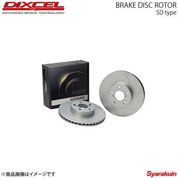 ブレーキローター DIXCEL SD フロント AUDI/アウディ S6 4AAAN ブレーキローター ディクセル