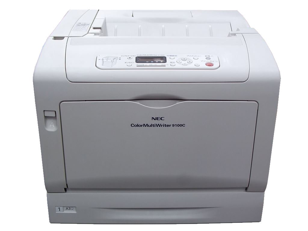 Color MultiWriter 9100C NEC A3カラーレーザープリンタ 両面対応【中古】
