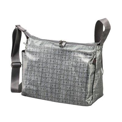ヤマト屋 軽量シンプル角ショルダー | 街歩きバッグ | T685 グレー/あす楽対応&5,000円以上送料無料