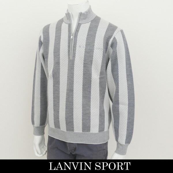 大人もOK LANVIN SPORT(ランバン スポール)セーターグレー系VMG4081C1 N94