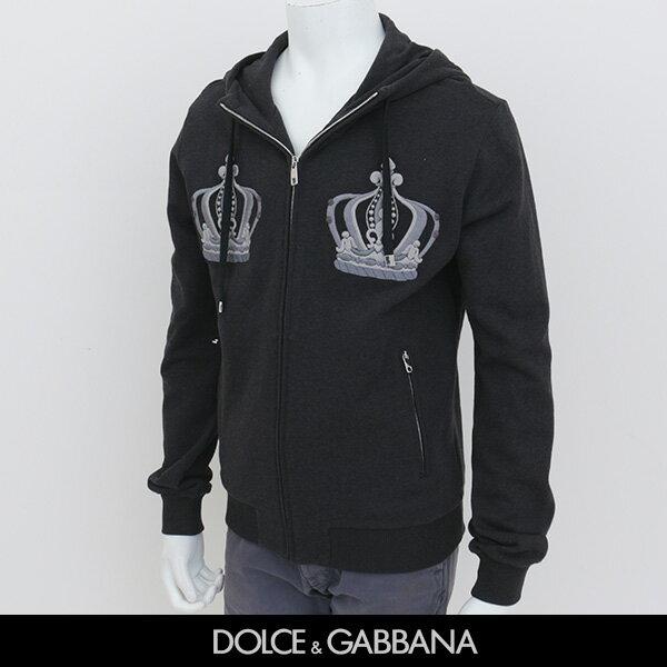 DOLCE&GABBANA(ドルチェ&ガッバーナ)ジップアップパーカーグレーG9FX4T G7HCW
