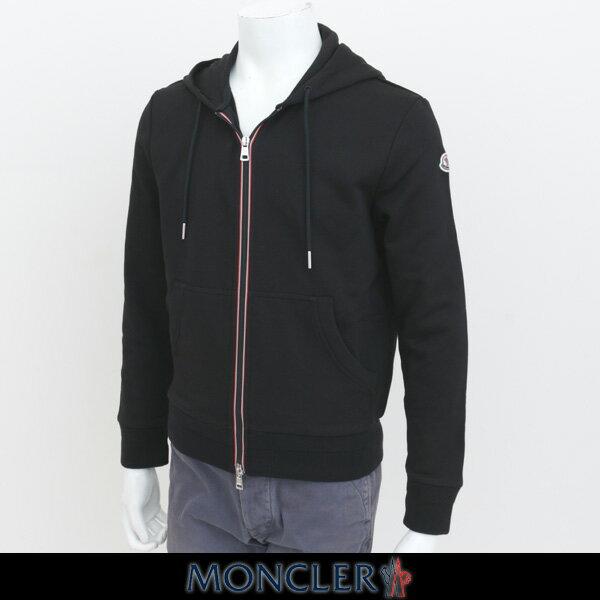 MONCLER(モンクレール)【メンズウェア】ダブルジップアップパーカー【ブラック】C1 091 8431500 8098U