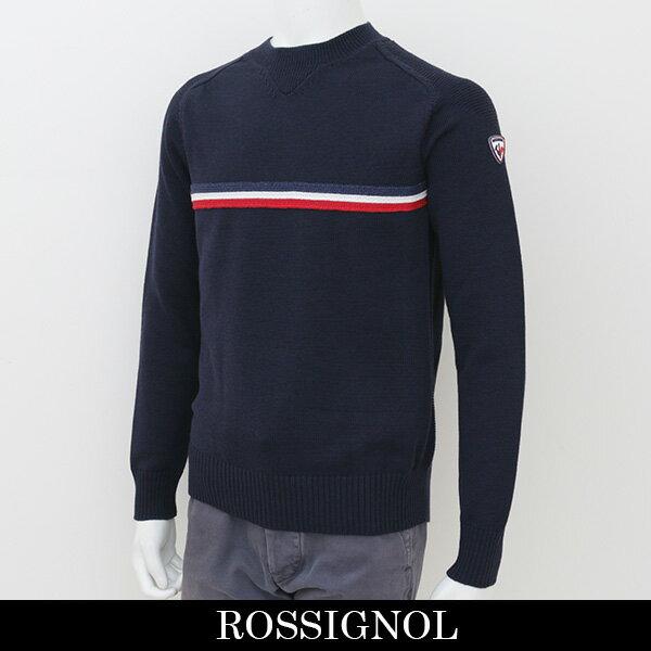 ROSSIGNOL(ロシニョール)【メンズウェア】セーター【ネイビー】RLGM011(URV 7621005)