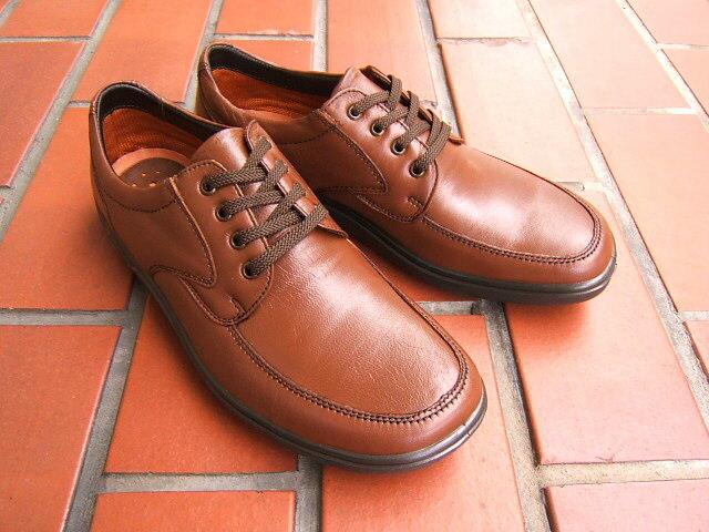 ビジネス&カジュアルで使える男の機能シューズ!ARUKURUN/アルクラン 紳士靴 レースアップ Uチップ 1102 ブラウン 送料無料