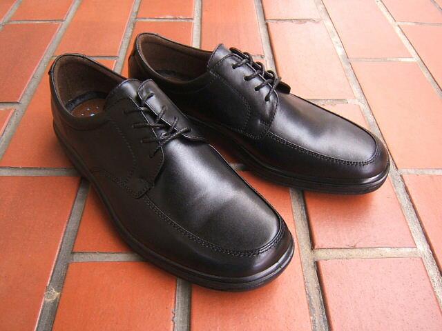 ビジネス&カジュアルで使える男の機能シューズ!ARUKURUN/アルクラン 紳士靴 レースアップ Uチップ 2201 ブラック 送料無料