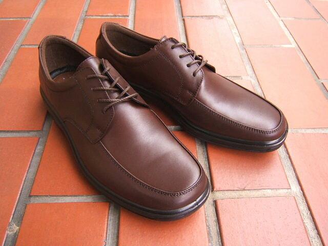 ビジネス&カジュアルで使える男の機能シューズ!ARUKURUN/アルクラン 紳士靴 レースアップ Uチップ 2201 ダークブラウン 送料無料