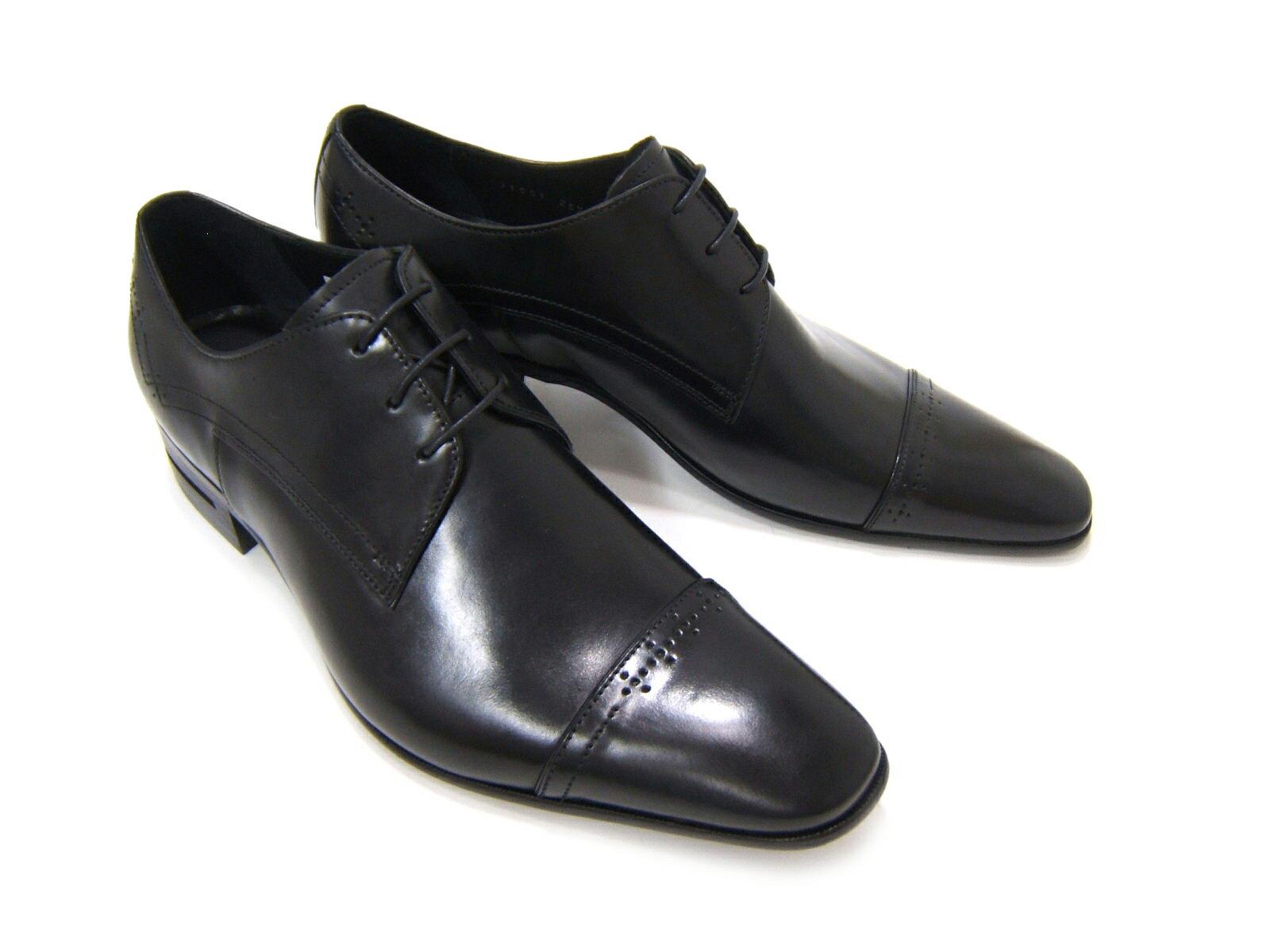 シンプルながら落ち着きのあるブリティッシュスタイル!KATHARINE HAMNETT LONDON キャサリン ハムネット ロンドン紳士靴 31551 ブラック ストレートチップ 外羽根 ビジネス フォーマル 送料無料