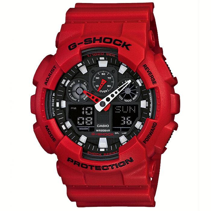 【送料無料!】カシオ GA-100B-4AJF メンズ腕時計 Gショック【CASIO GA100B4AJF G-SHOCK】