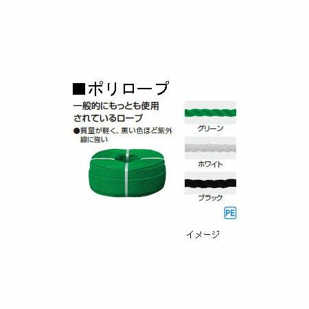 外柵ロープ ポリロープ 51264500(NAD-IS10G)10mm×200m[タカショー 瀧商店]