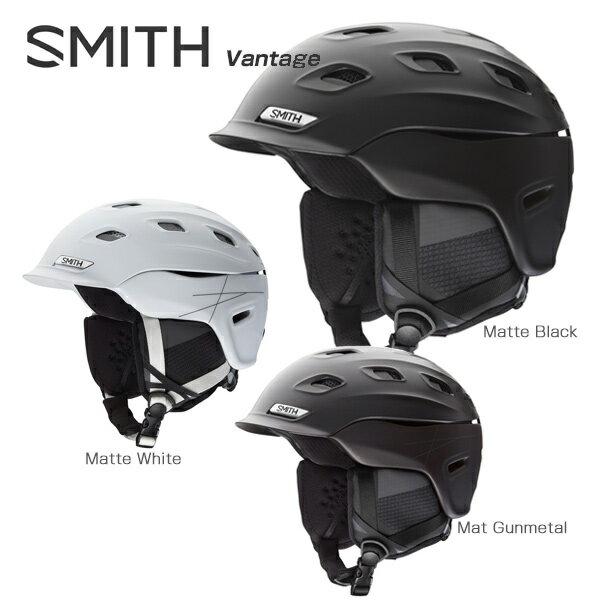 【予約受付中】★SMITH〔スミス スキーヘルメット〕<2018>Vantage〔バンテージ〕【ASIAN FIT】【boa搭載】【送料無料】