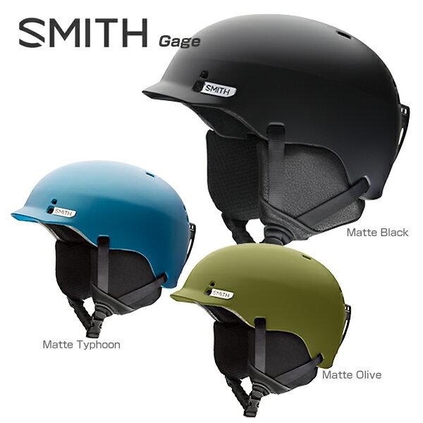 【予約受付中】SMITH〔スミス スキーヘルメット〕<2018>Gage〔ゲージ〕