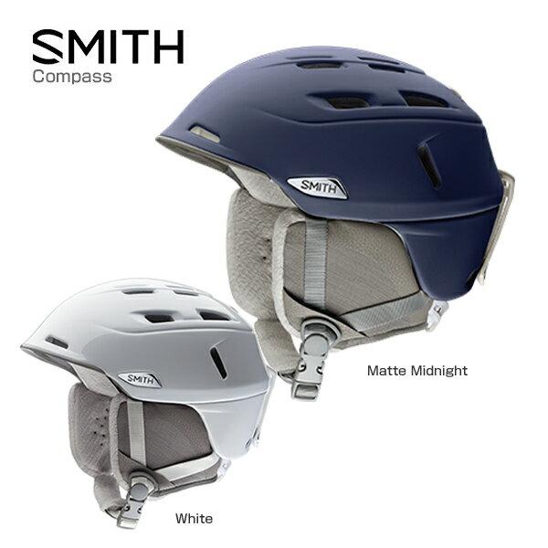 SMITH〔スミス レディース スキーヘルメット〕<2017>Compass〔コンパス〕