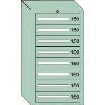 OS 中量キャビネット7型 最大積載量1200kg 引出し8段 71202/1台【4571461】