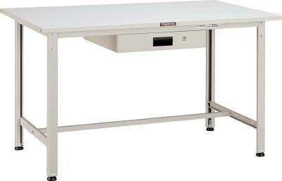 TRUSCO SAE型作業台 900X600XH740 薄型1段引出付 W色 SAE0960UDK1 W/1台【4546172】