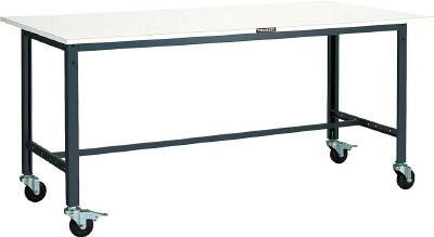 TRUSCO LEWS型作業台 900X600 100φキャスター付 LEWS0960C100/1台【4544897】