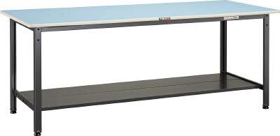TRUSCO BE型軽量作業台 1200X600 下棚2枚付 BE1260LT2/1台【4543581】