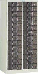 TRUSCO カタログケース 深型2列14段 600X400XH1200 B2C14/1台【5045916】