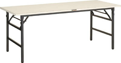 TRUSCO UFL型折畳型作業台 1800X750XH740 DG色 UFL1875NDG/1台【4590899】