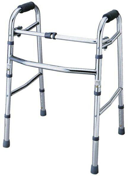 介護 歩行器 折り畳み歩行器 赤井 hkz リハビリ 歩行補助 高齢者用 福祉用具 通販