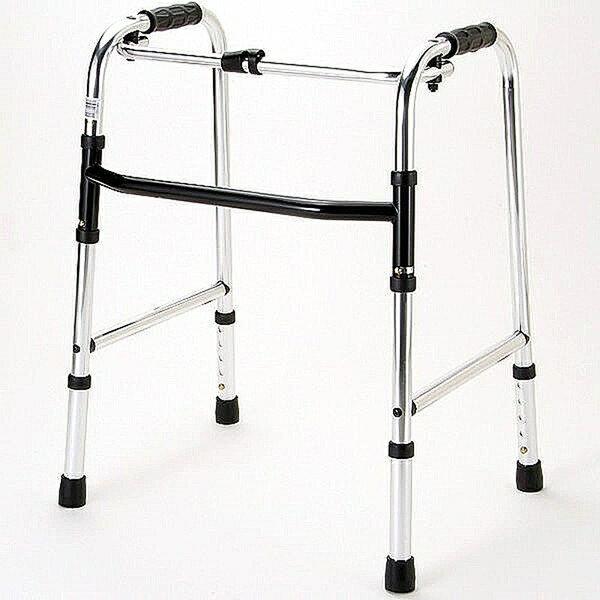 マキライフテック 歩行器 固定型 HKM-100 介護用品 リハビリ 歩行補助 高齢者用 hkz