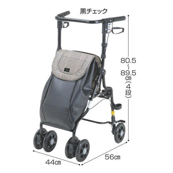 シルバーカー アンティ UX-2 マキテック【シルバーカー 折りたたみ 折り畳み コンパクト シルバーカート 軽量 バッグ付き 座れる】