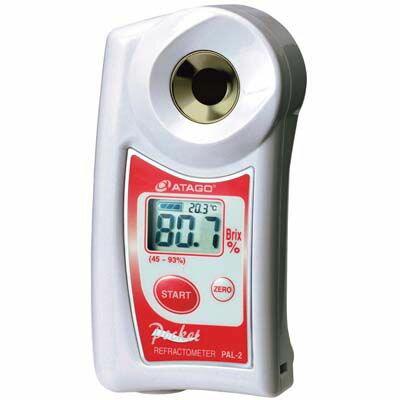 アタゴ デジタル ポケット糖度計 高濃度モデル PAL-2 EBM-1618900