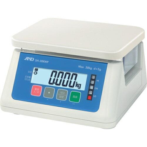 【カード決済OK】エー・アンド・デイ A&D デジタル防水はかり 30Kg SH30KWP 4981046608008
