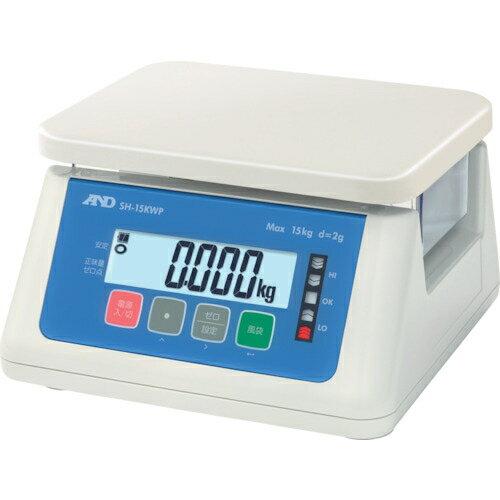 【カード決済OK】エー・アンド・デイ A&D デジタル防水はかり 15Kg SH15KWP 4981046607995