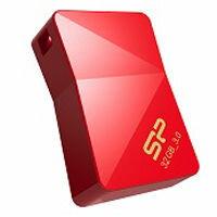 シリコンパワー USB3.0メモリ32GB/J08 レッド SP032GBUF3J08V1R