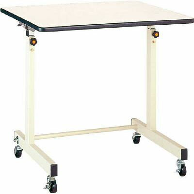 丸善精工 丸善 ポールチャック式補助デスク 木製テーブル 移動式 900×600mm CS900M1