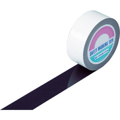 日本緑十字社 緑十字 ガードテープ(ラインテープ) 黒 50mm幅×100m 屋内用 148057
