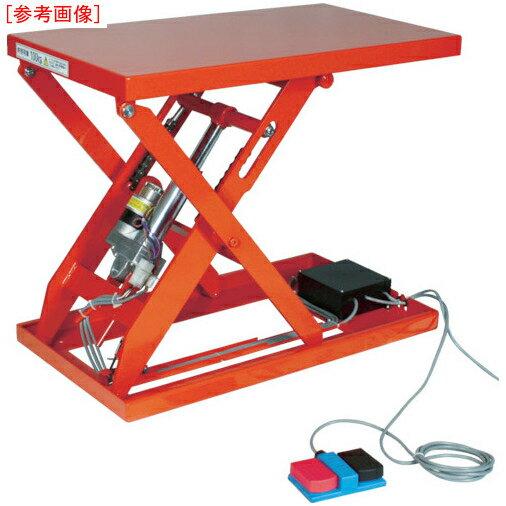 トラスコ中山 TRUSCO テーブルリフト250kg(電動Bねじ200V)600×1050mm HDL-L25610V-22
