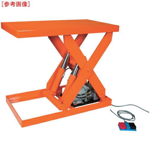【カード決済OK】トラスコ中山 TRUSCO テーブルリフト1000kg 油圧式 800X1050 HDL-100-0810 HDL-100-0810