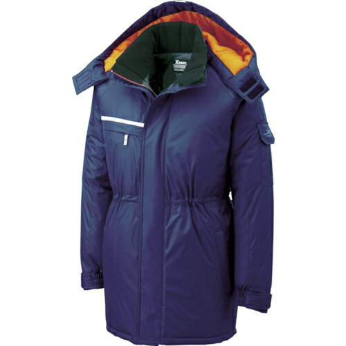 ジーベック ジーベック 581581防水防寒コート 紺 M 58110M
