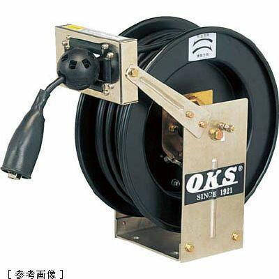 ハタヤリミテッド OKS アースリール スプリング式 5.5×1 20mケーブル付 ERDA2