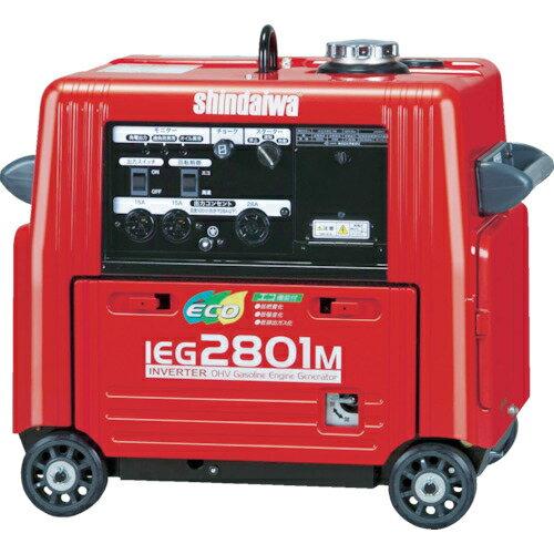やまびこ 新ダイワ 防音型インバーター発電機 2.8kVA IEG2801M