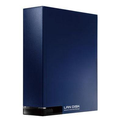 【代引手数料無料】アイ・オー・データ機器 IOデータ ネットワーク接続ハードディスク HDL-Tシリーズ(スタンダードモデル) ミレニアム群青 2TB NV HDL-T2NV【納期目安:約10営業日】