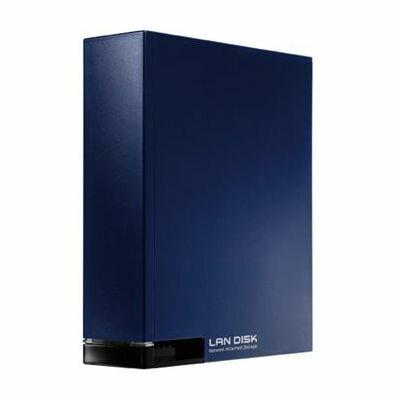【代引手数料無料】アイ・オー・データ機器 ネットワーク接続ハードディスク(NAS) 1TB ミレニアム群青 HDL-T1NV【納期目安:約10営業日】