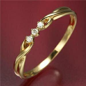 その他 K18ダイヤリング 指輪 デザインリング 9号 ds-867742