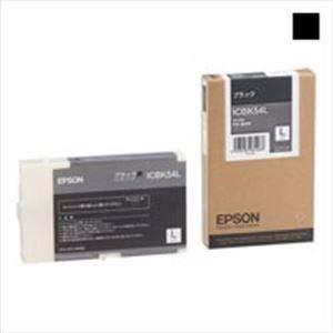 その他 EPSON エプソン インクカートリッジL 純正 【ICBK54L】 ブラック(黒) ds-1302384