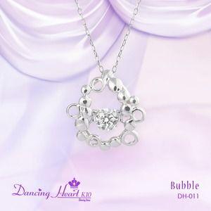 その他 クロスフォーDancing Heart(ダンシングハート) DH-011 【Bubble】 ダイヤモンドペンダント/ネックレス ds-1430266