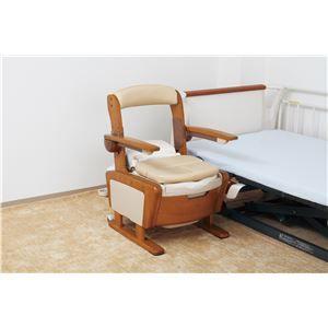 その他 アロン化成 木製ポータブルトイレ 安寿 家具調トイレAR-SA1(シャワピタ) (1)ノーマルL 533-810 ds-1550744